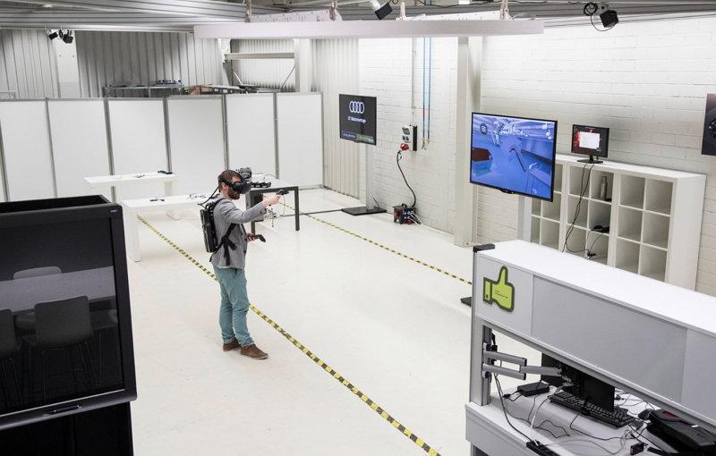 Audi AG - Entrenamiento - Realidad Virtual