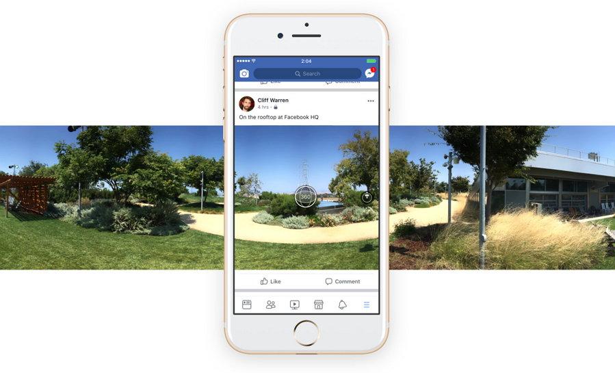 Facebook - Fotos de 360 grados