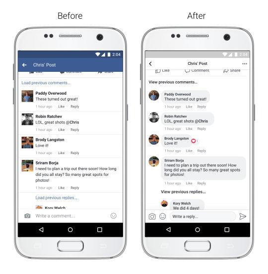 Facebook - Feed de Noticias - Conversaciones
