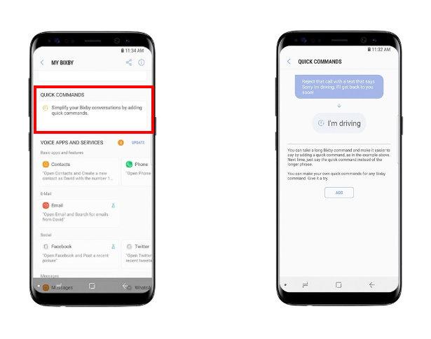 Samsung Bixby Voz - Comandos Rápidos