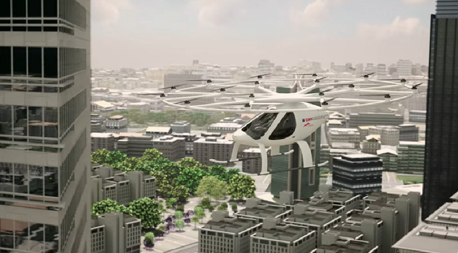 Dubai - AAT -Drone Taxi