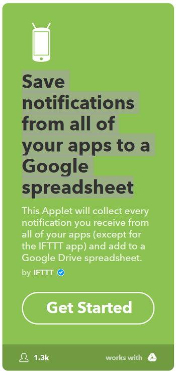IFTTT - Android - Notificaciones
