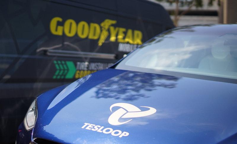 Goodyear - Tesloop - Neumáticos Inteligentes