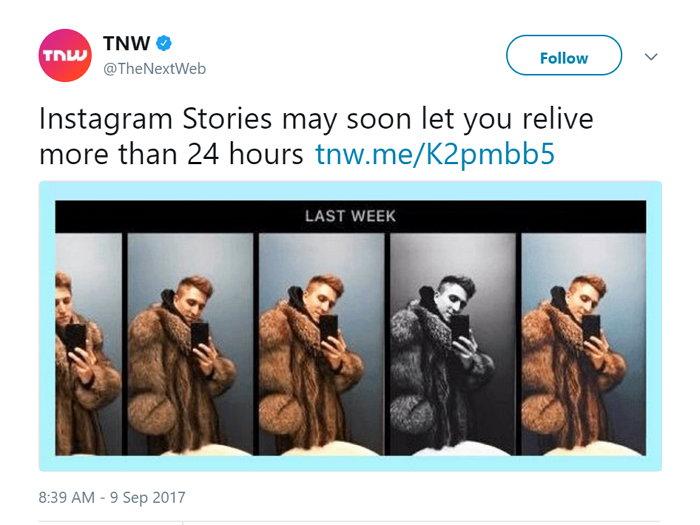 Historias de Instagram - Última Semana