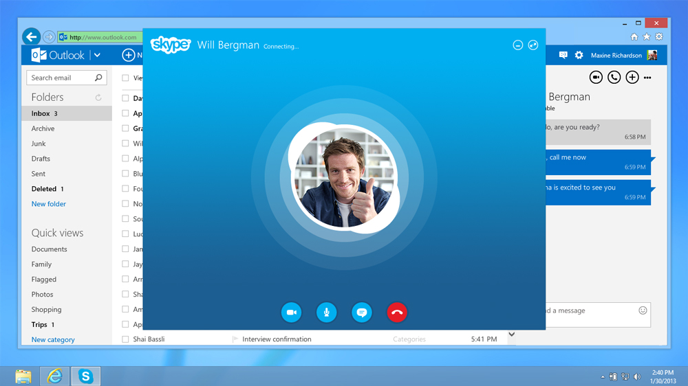 Skype Desktop - Llamadas Gratuitas