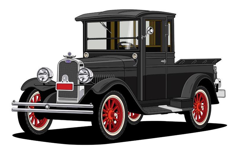 100 años de Camionetas Chevrolet - 1929 International Series LD
