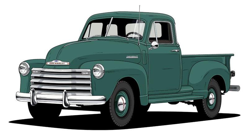 100 Años de Camionetas Chevroltet - 1947 Chevy 3100 Series