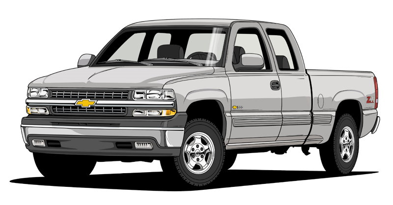 100 Años de Camionetas Chevroltet - 1999 Silverado 1500 LT Z71