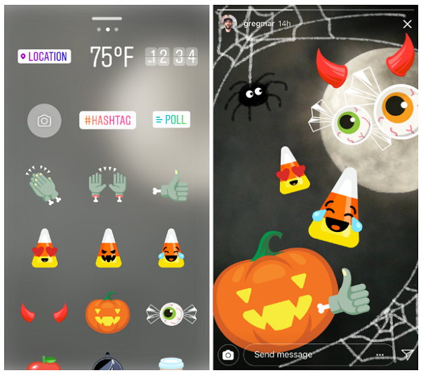 Llegan los filtros de Halloween a Instagram