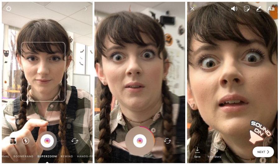 Conoce los nuevos filtros que estrena en el mes de Halloween — Instagram