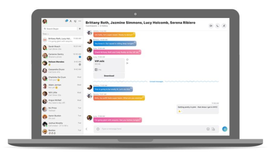 Skype para escritorio