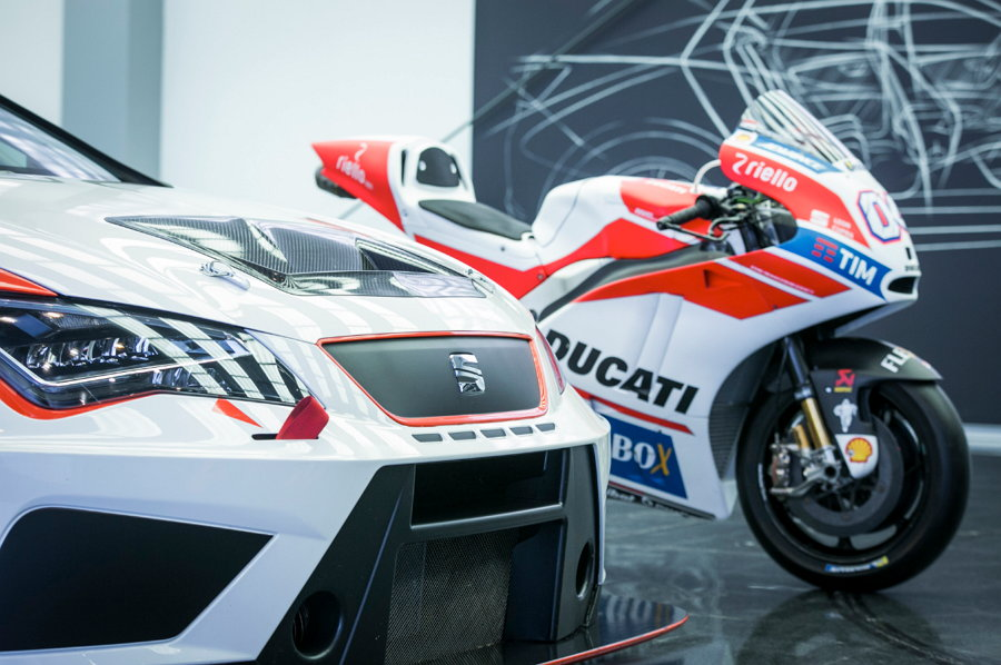 SEAT - Ducati - Diseñadores: Daniel García y Edoardo Lenoci - Competición