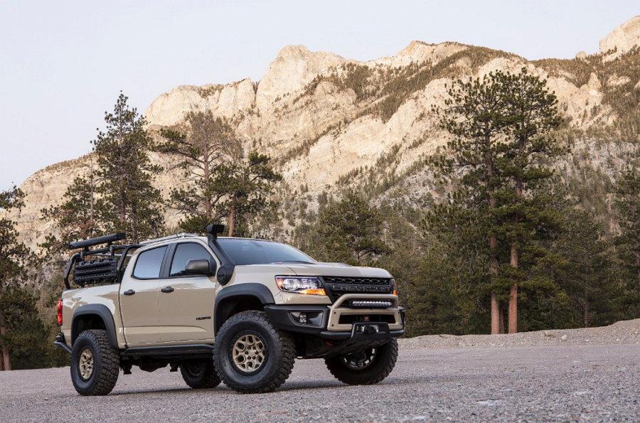 Colorado ZR2 AEV concepto