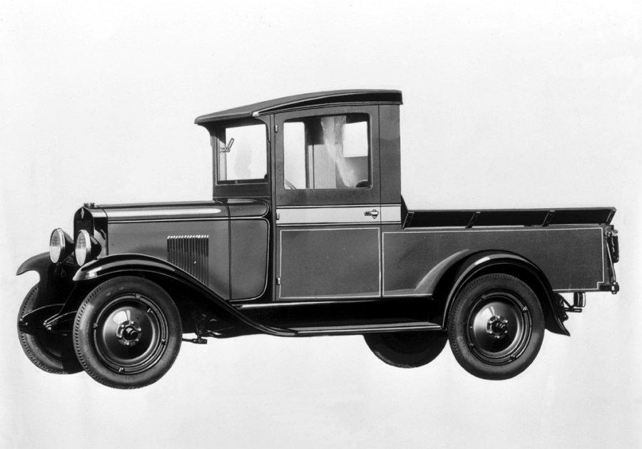 1929 Chevrolet half-ton (Par Motor 45 lb-pie)