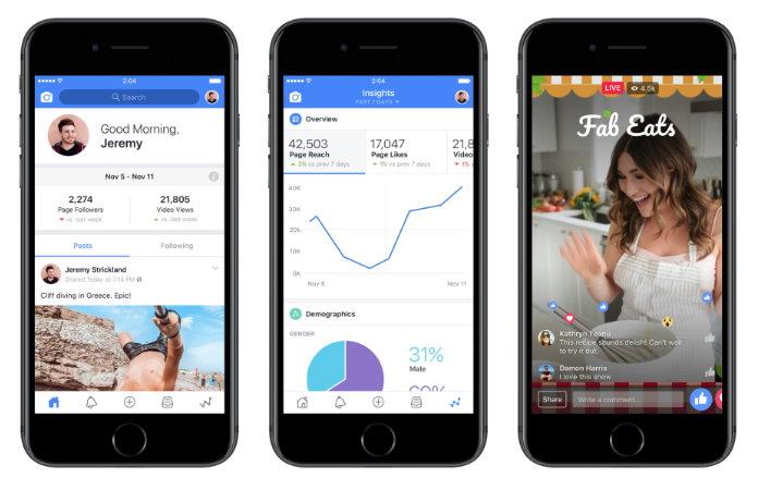 Estas son las nuevas herramientas para los creadores — Facebook