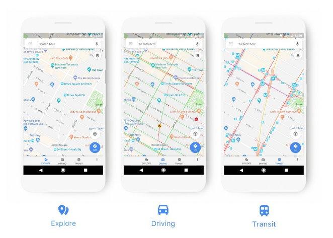 Google Maps transforma su plataforma