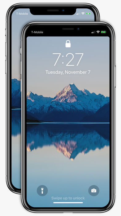 iPhone X Notch Remover