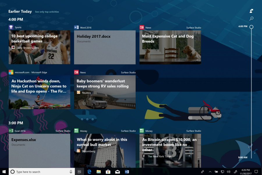 Windows 10 Insider Preview - See All - Ver Todo