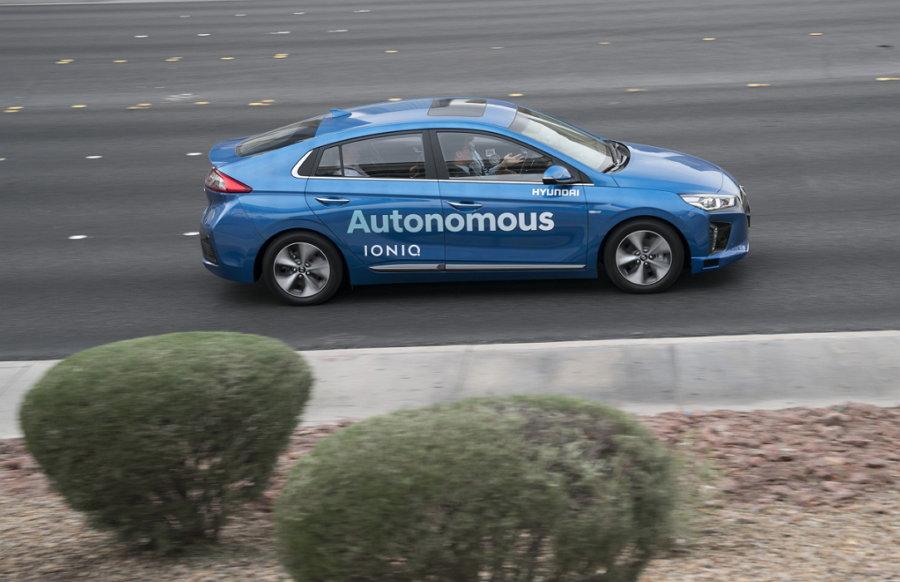 Hyundai Ioniq Autonomo