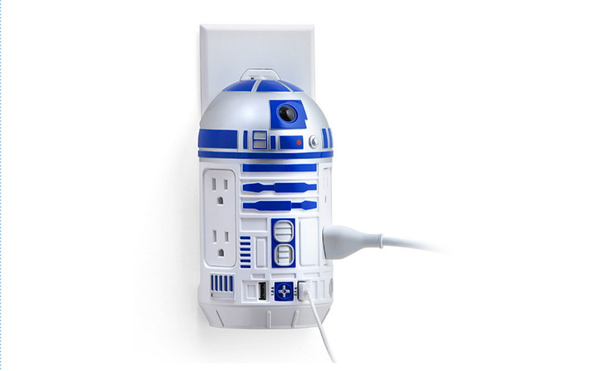 Estación de Carga CA-USB Star Wars R2-D2