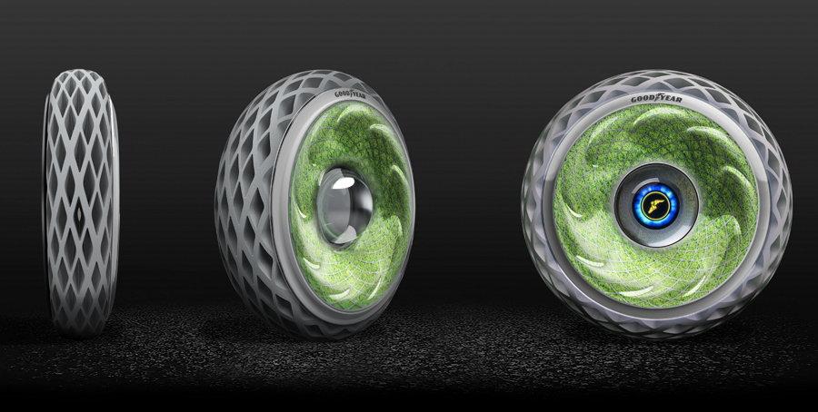 Goodyear Oxygene - Conceptos de Neumáticos