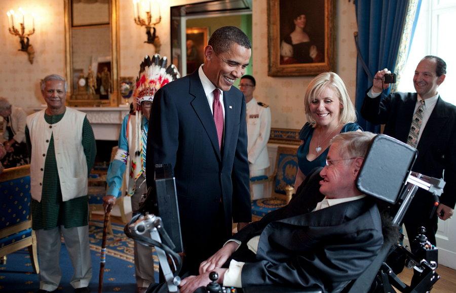 Stephen Hawking - Barack Obama