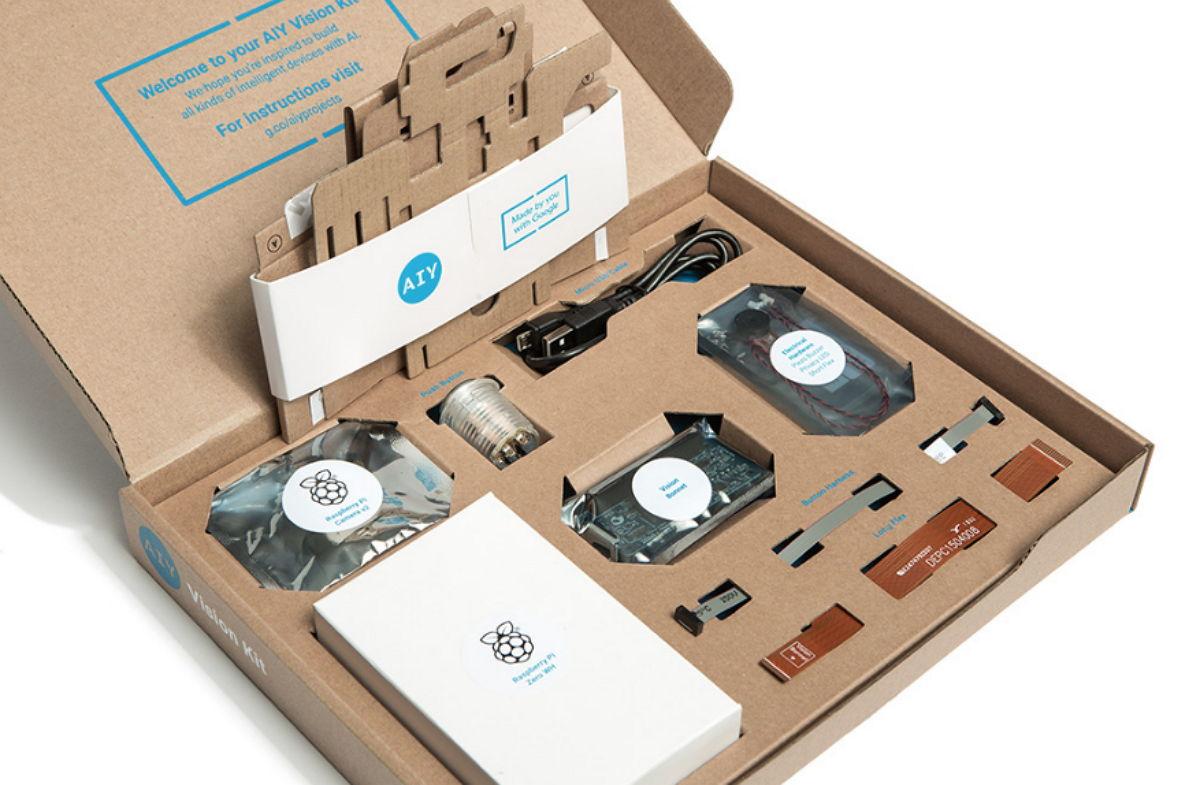 Google AIY Kits - Visión