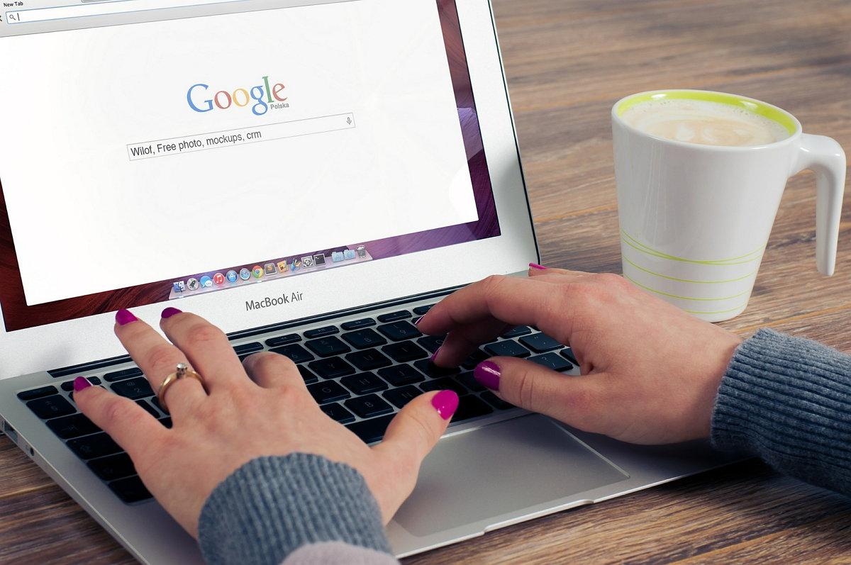 Google - SEO - Laptop