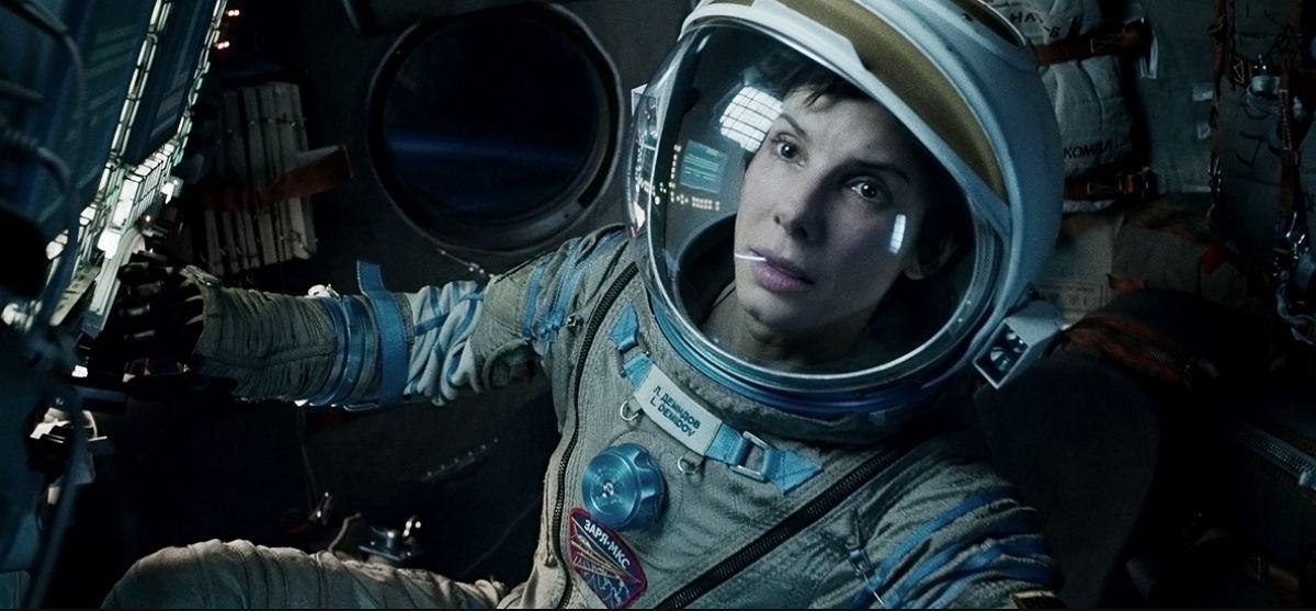 Gravity - Sandra Bullock - Películas del Espacio