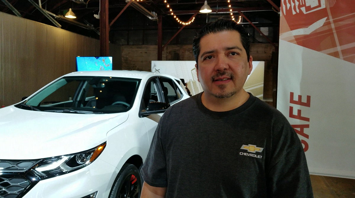 Chevrolet - Humberto Ortiz - Lead Creative Designer