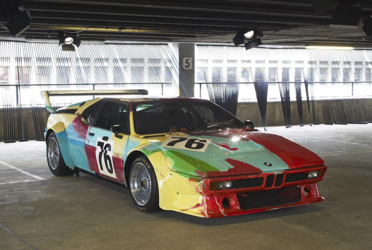 BMW M1 - Andy Warhol