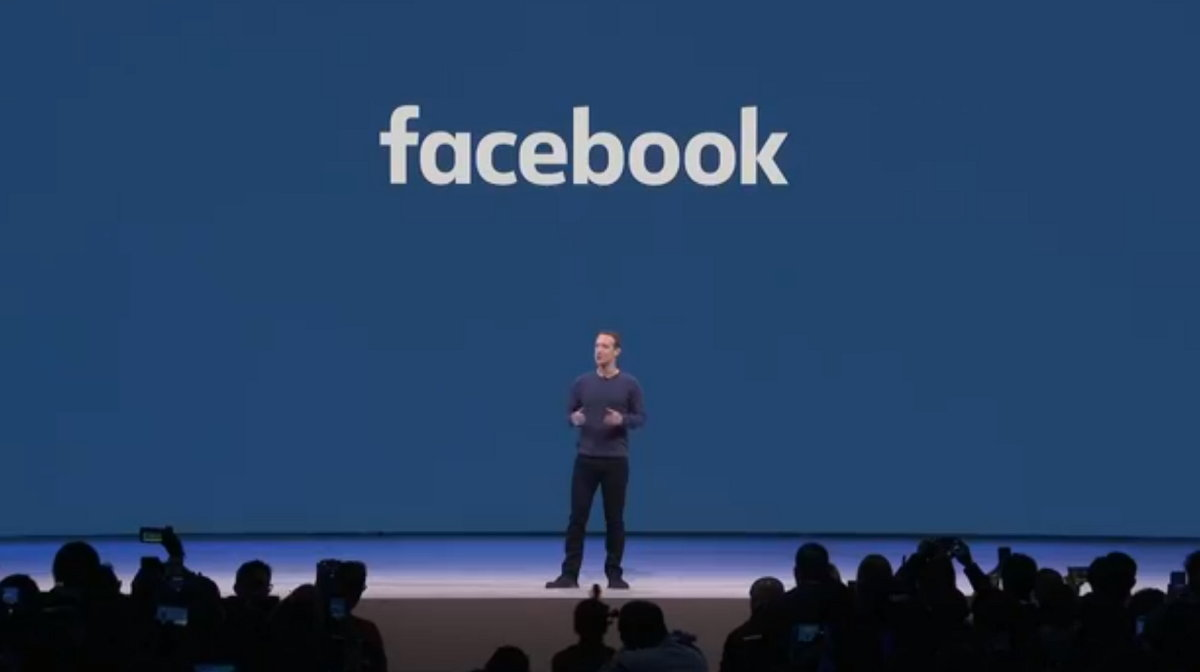 Facebook F8 - Mark Zuckerberg
