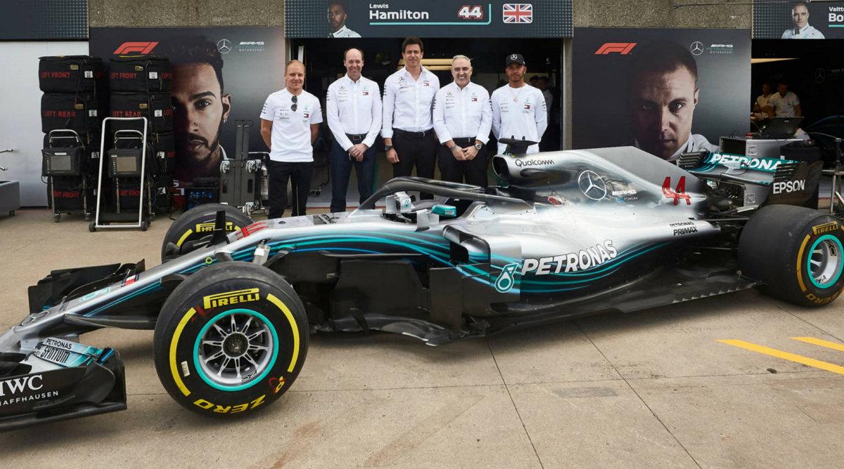 Mercedes-AMG Petronas Motorsport - HPE