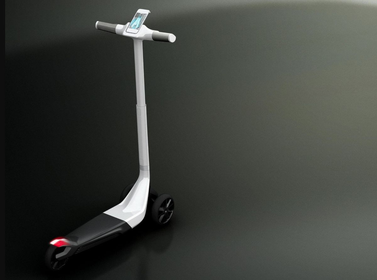 Peugeot Design Lab - Concepto Peugeot Electric Scooter