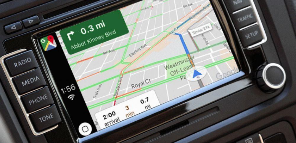 Google Maps - Apple CarPlay