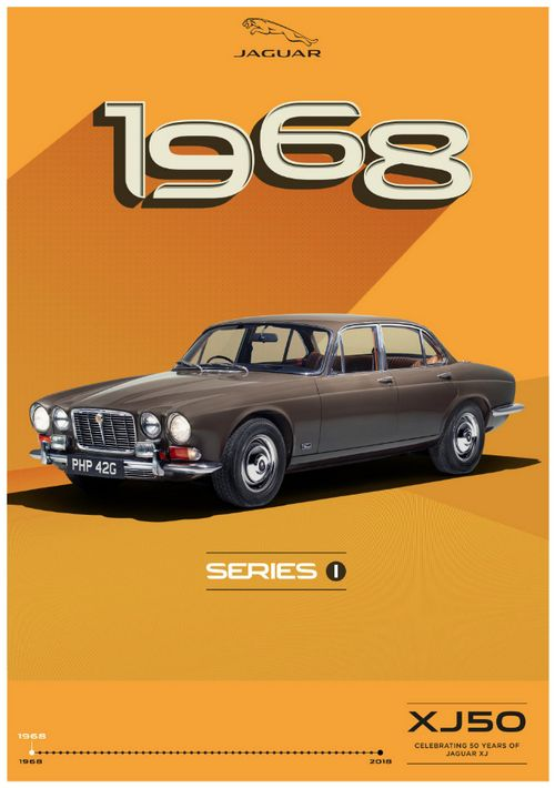 Jaguar XJ Series I - 1968