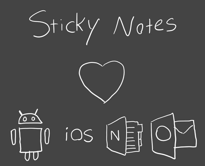 Sticky Notes iOS y Android