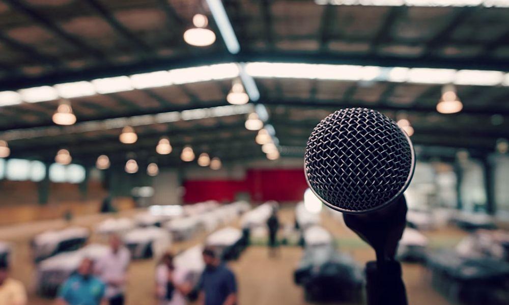 Micrófono - Hablar en Público