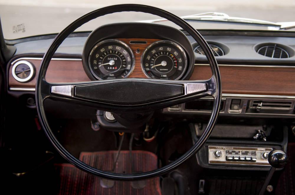 SEAT 1224 - Años 70 - Volante