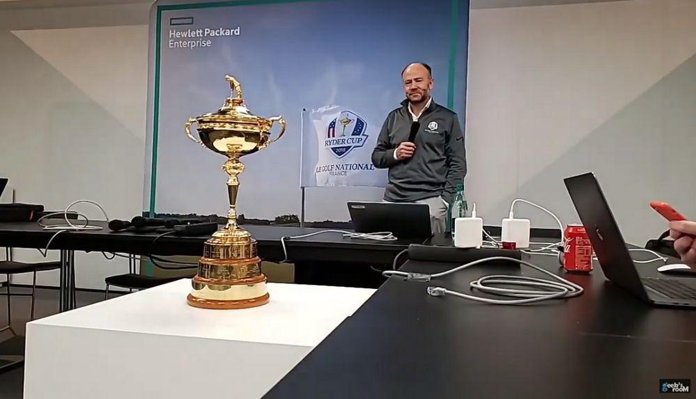 Michael Cole - CTO European Tour y Ryder Cup