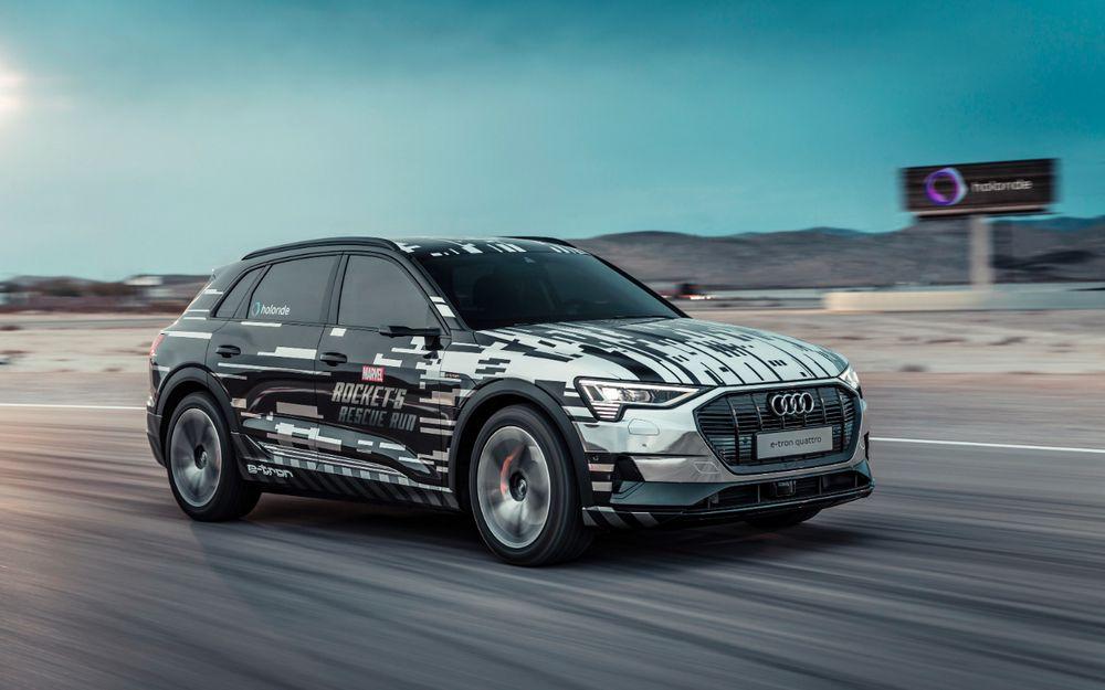 Audi e-Tron - Plataforma de Realidad Virtual