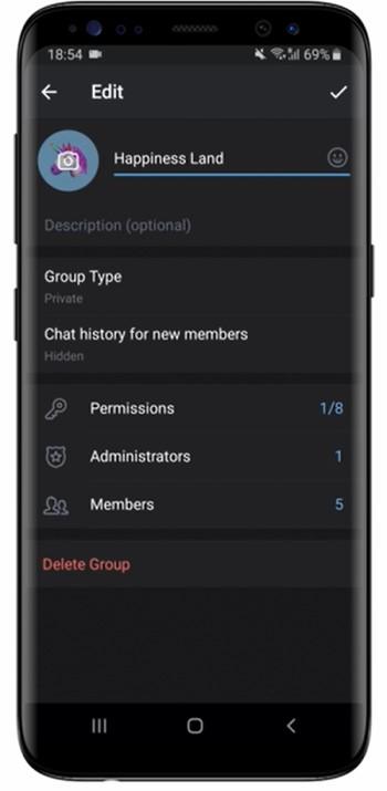 Messenger Grupos