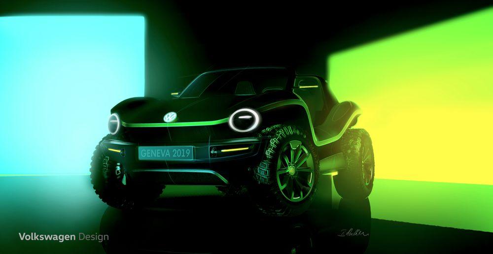 Volkswagen - Prototipo Buggy Eléctrico - Ginebra 2019