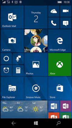 Windows 10 Móvil