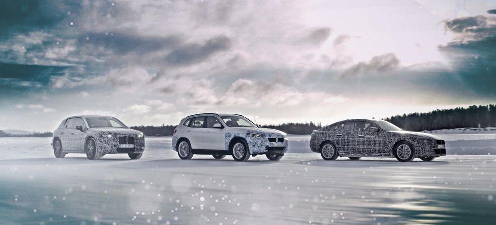 BMW i4, BMW iNext y el BMW iX3