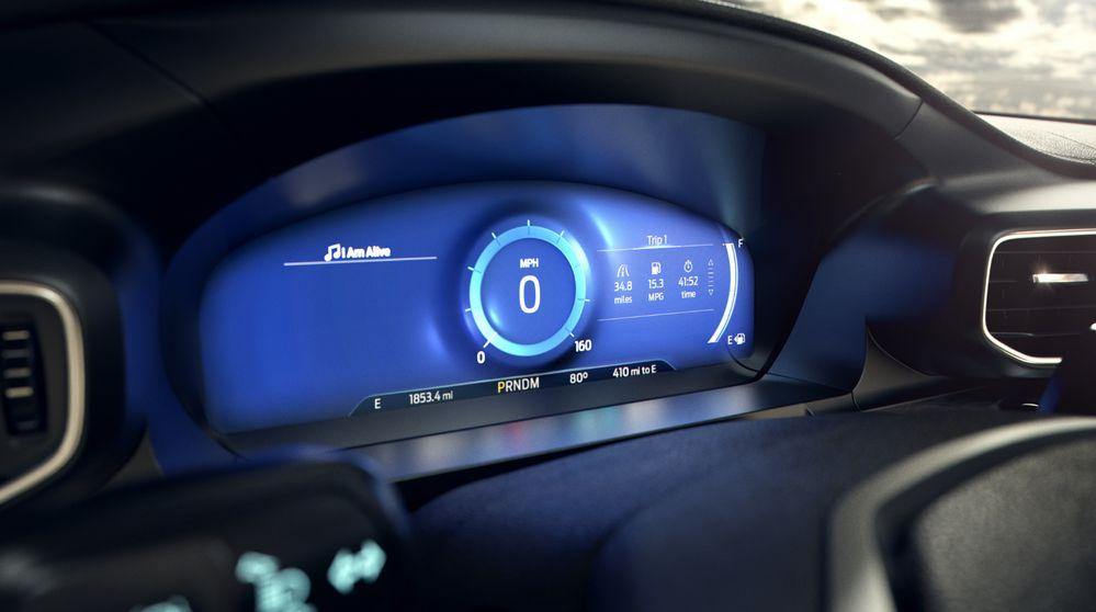 Ford Explorer - Pantalla Calma - Modo Consciente