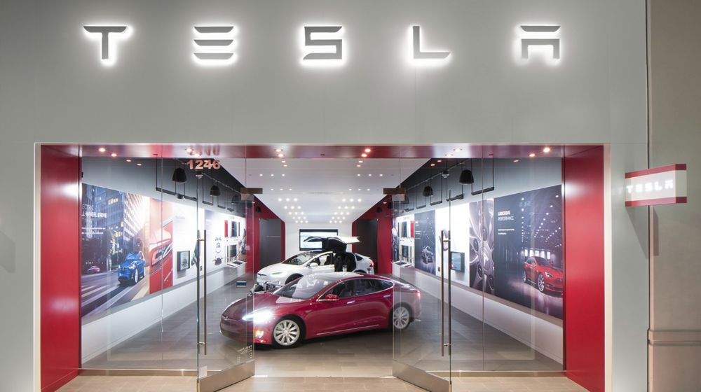 Tesla Walnut Creek Stores