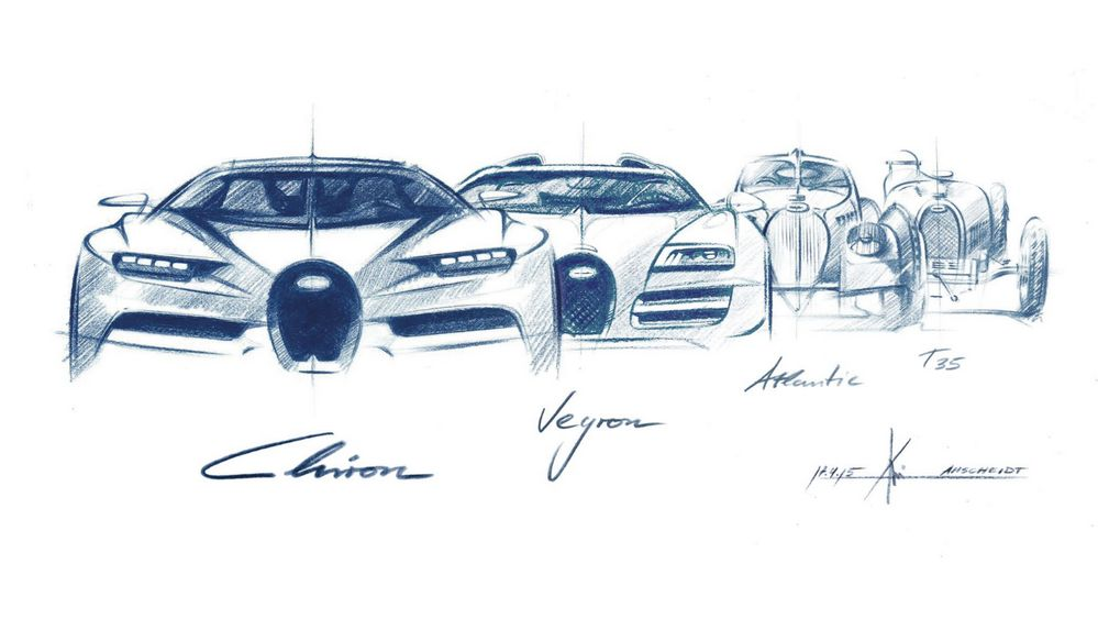 Bugatti - Parrilla