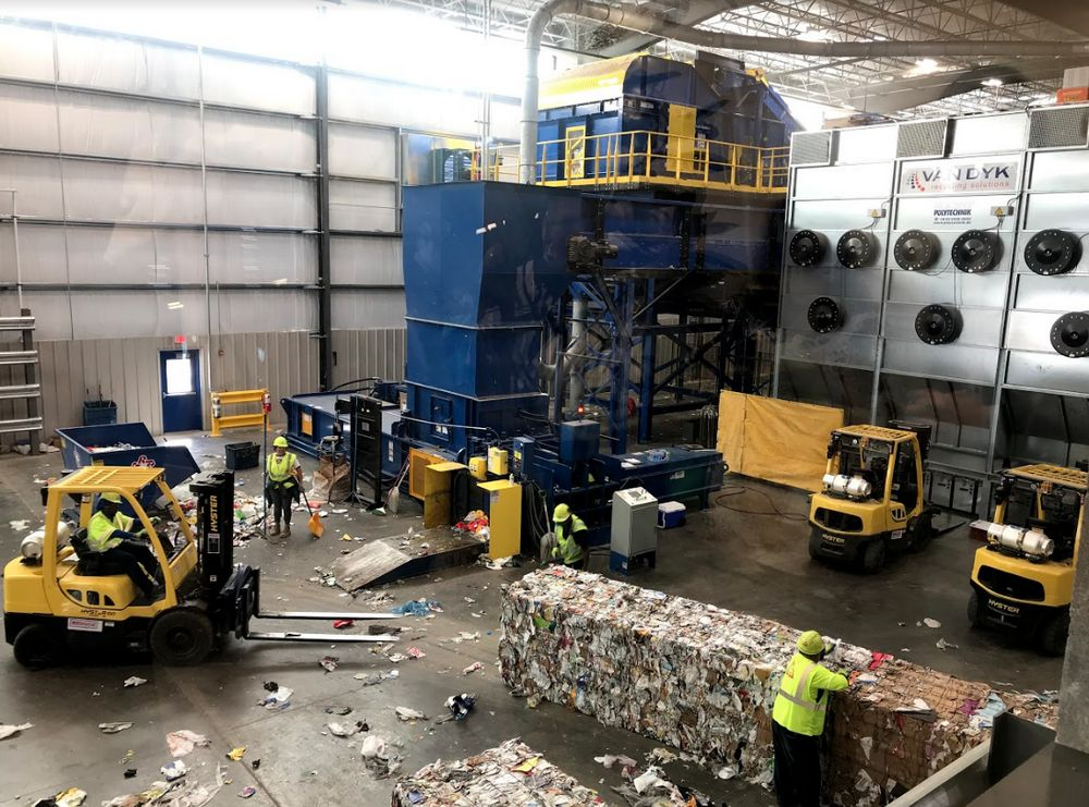 Republic Center - Plano Recycling Center