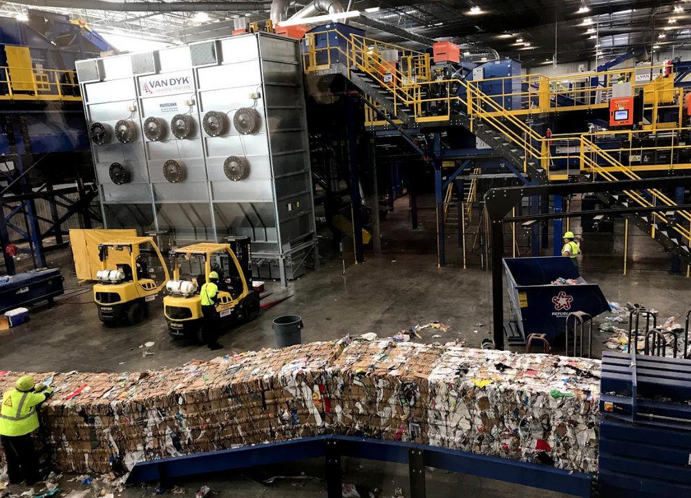 Republic Center - Plano Recycling Center